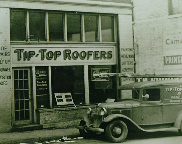 Tip Top Roofers First Location in Atlanta